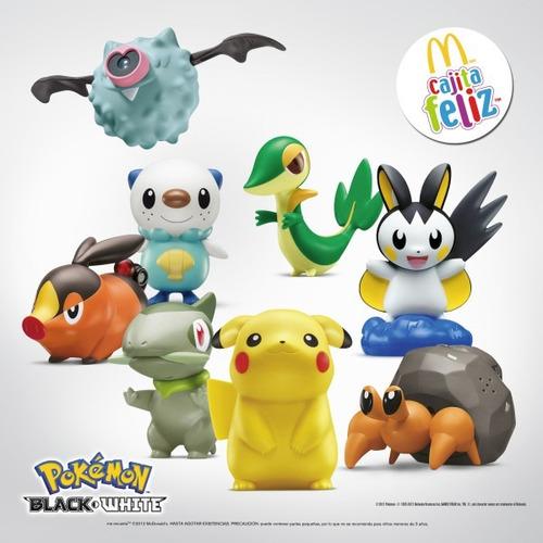 varias figuras pokemon mc donalds 2012  nuevas selladas