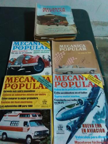 varias revistas de mecánica popular