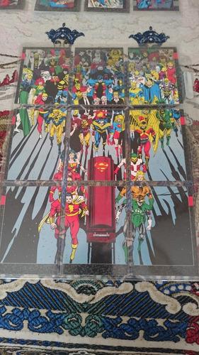 varias tarjestas de colección (2 marvel, 2 superman)