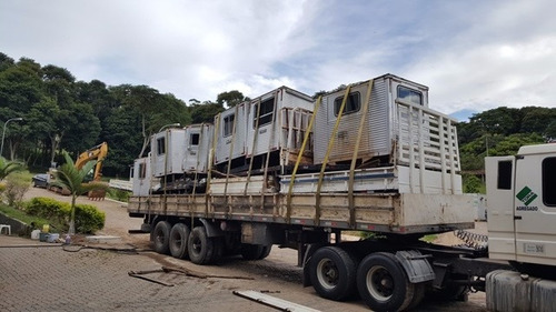 várias unidades cabines suplementar l conjunto