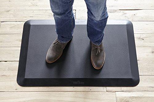varidesk-escritorio de pie alfombrilla antiescaras comfort