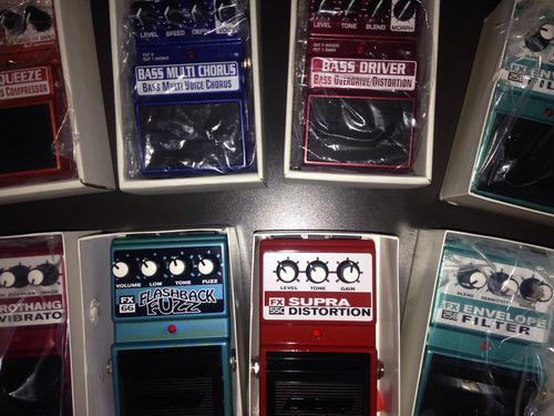 variedad de pedales dod/digitech - acepto negocios