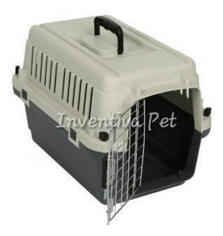 varikennel transportador l50 jaula para perros gatos conejos