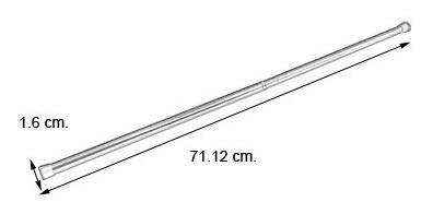 varilla tension redondo 7/16x28-48  cortinero graber.