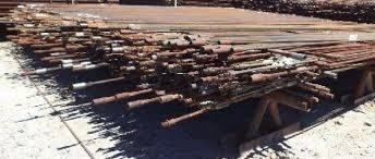 varillas de bombeo petroleras acero hierro 3/4 , 7/8 , 1