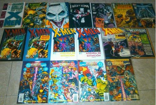 varios comics especiales marvel dc vid