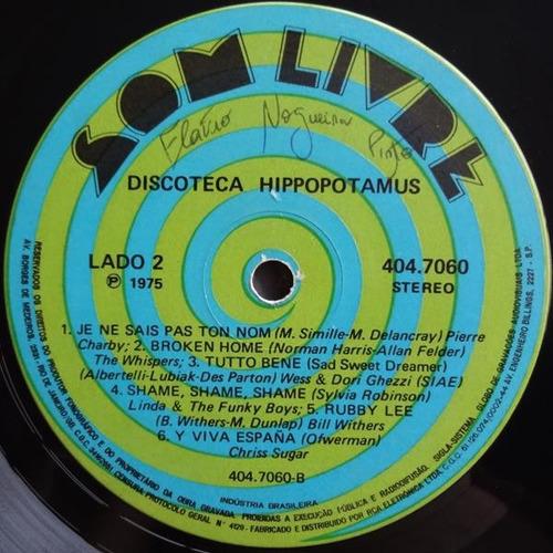 vários -  discoteca hippopotamus