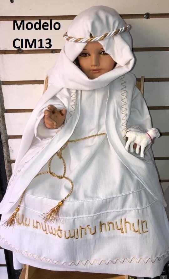 Varios Modelos Vestido Ropon Niño Dios Talla 6 10 Premium