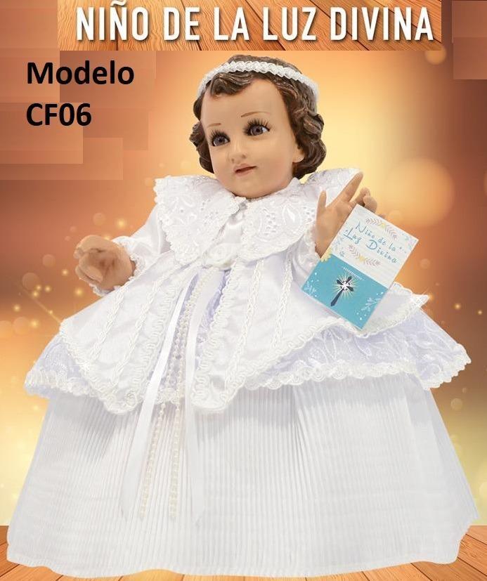 Varios Modelos Vestido Ropon Niño Dios Talla25 35 Premium
