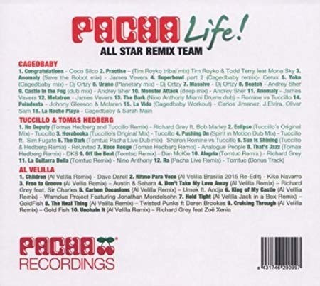 varios - pacha life! all star remix team 3 cds imperdibles!!