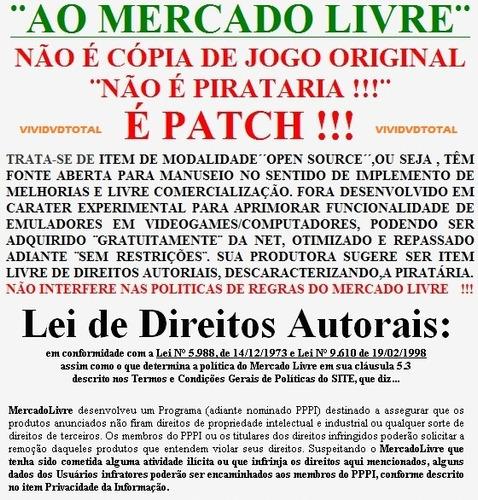 vários patchs para ps1/ temos todos ps1