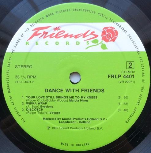 various - dance with friends vinilo lp 12 pulgadas