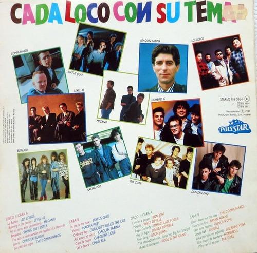 various - ¡qué locura! vinilo 12 pulgadas lp album