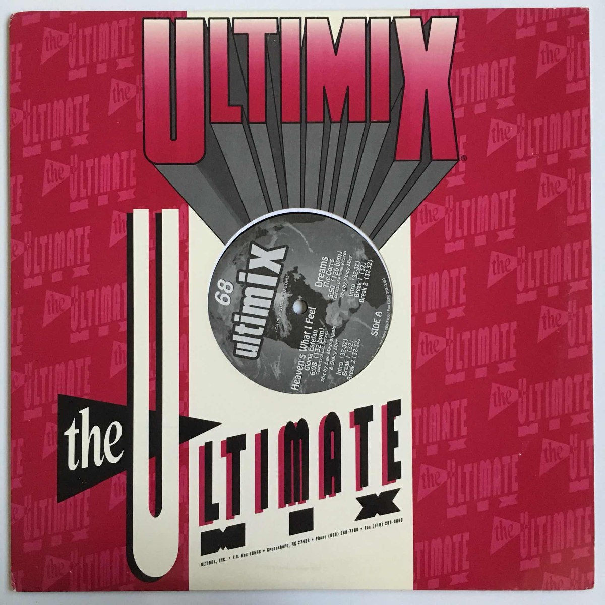 Various - Ultimix 68 Disco 1 - 12'' Single Vinil Us