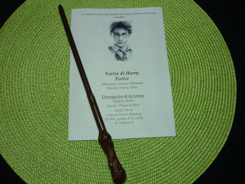 varita de harry potter + varita de  hermione