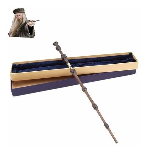 varita harry potter nucleo acero caja - albus dumbledore