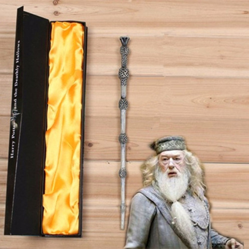varita harry potter sauco dumbledore 35 cms