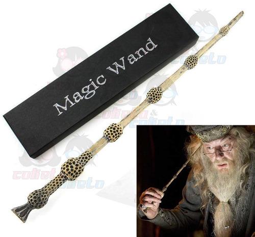varita harry potter - sauco dumbledore - cosplay