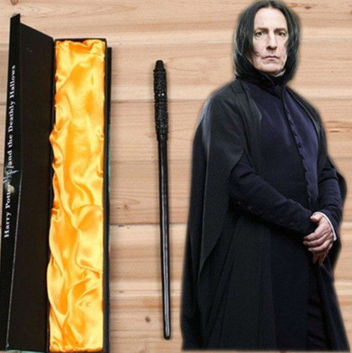 varita harry potter severus snape 35 cms de coleccion