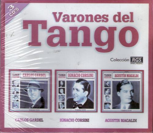varones del tango - gardel corsini magaldi pack 3 cds