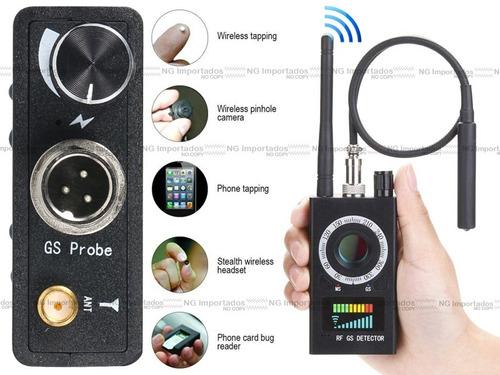 varredura sinal celular anti spy detecta escuta wi-fi caneta