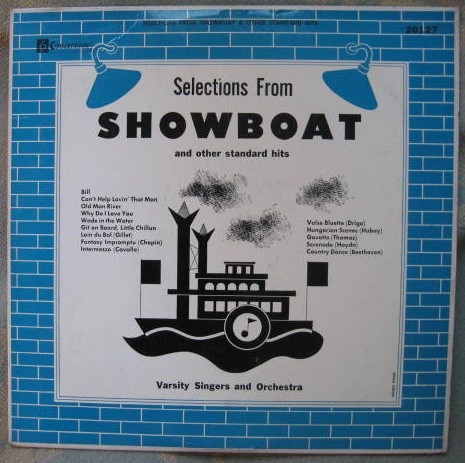 varsity singers and orchestra - selections from showboat