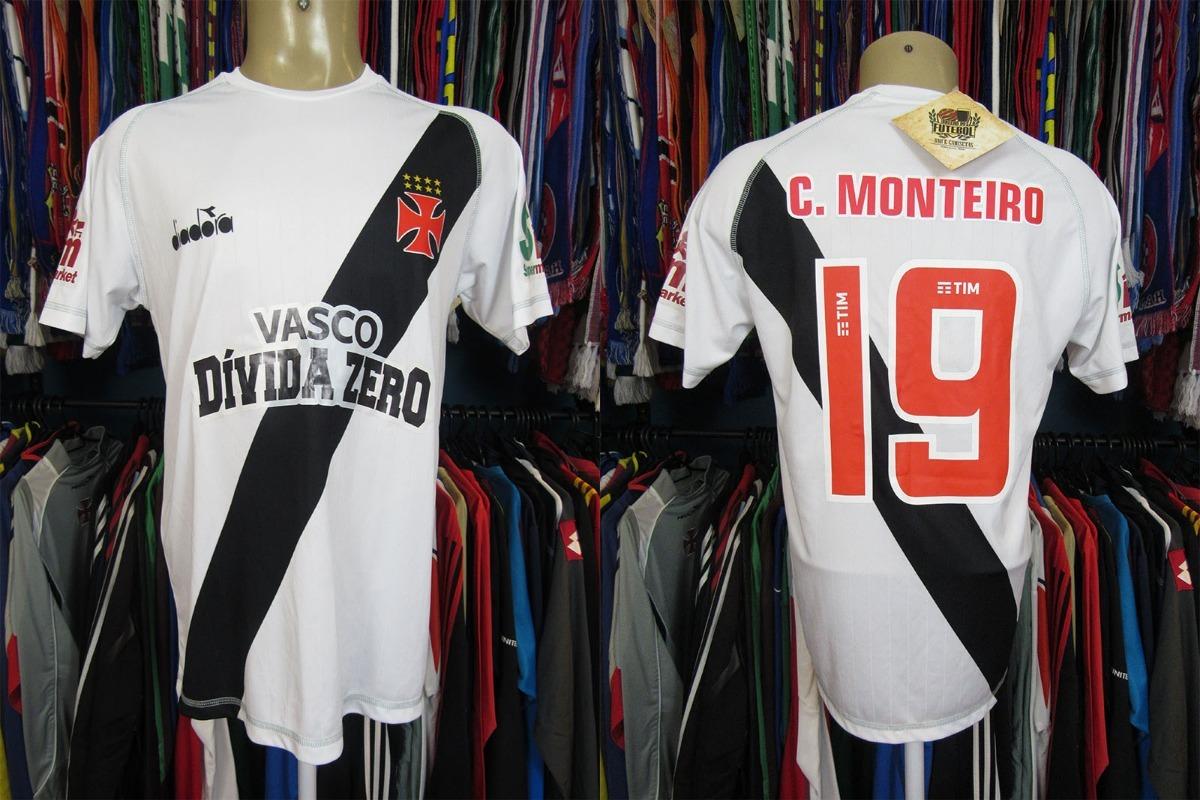 Vasco Da Gama 2018 Camisa Titular Tamanho M   19 C. Monteiro - R ... 2bab0558c7516