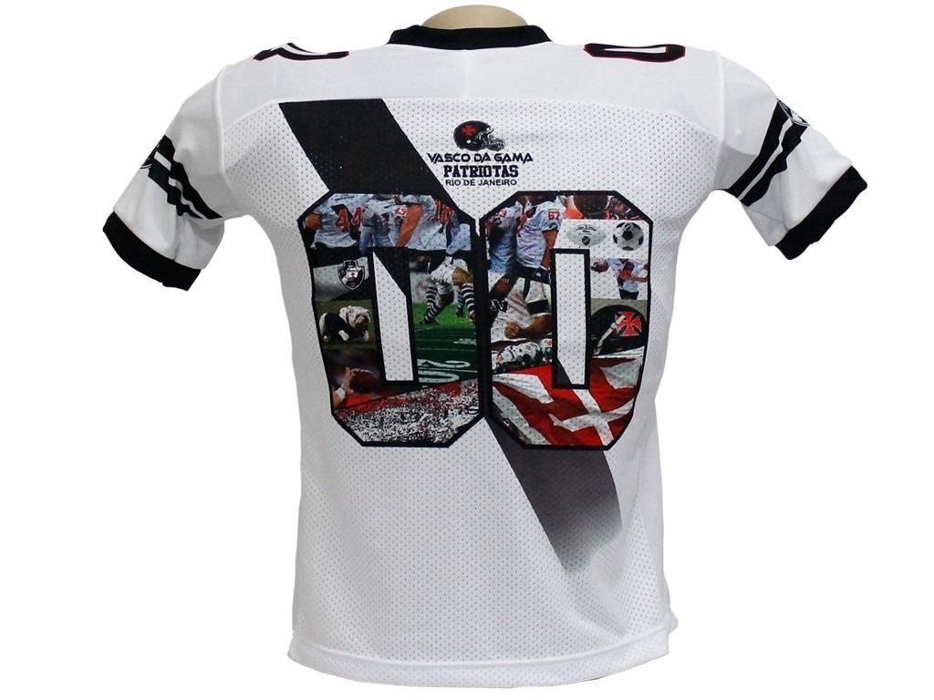 b01673dedcabe Camisa Oficial Vasco Da Gama Futebol Americano Traktor - R  110