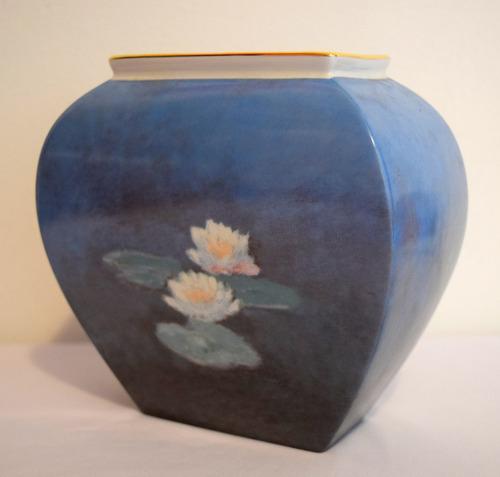 vase porcelana artisorbis monet edicion limitada. n18