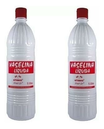 vaselina liquida 1 litro pacote com 2 unidades