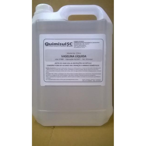vaselina líquida galão 5 litros  excelente qualidade !!!