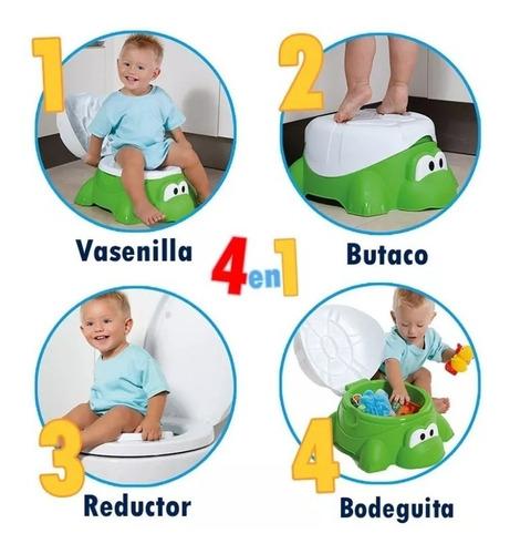 vasenilla baso entrenador 4 en 1 para bebe niño niña