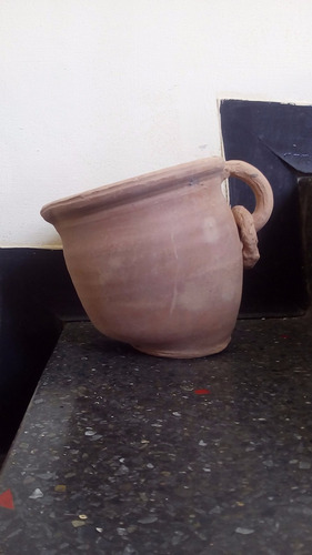 vasija de barro pimpina de barro matero jarron de barro