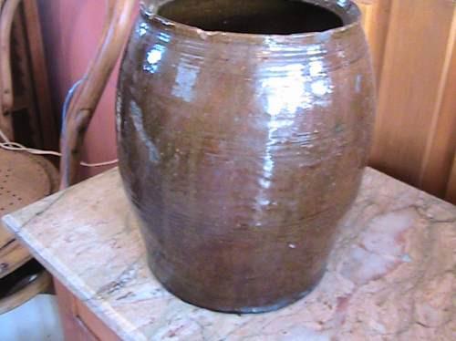 vasija de cerámica