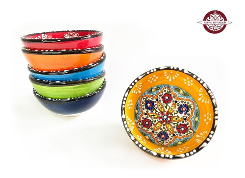 vasija en ceramica mini 8 cm de turquía