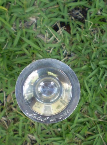 vasinho vaso  solitário em peltro