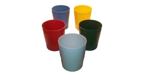 vasinhos lembrancinha 100 pçs ótimo preço 7cm coloridos