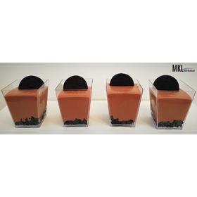 Vasitos Para Mini Postres - Cuadrado Xl - X30u - Finger Food