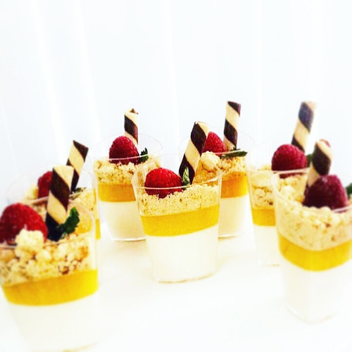 vasitos para postres triangulo candy bar catering 100 pzas