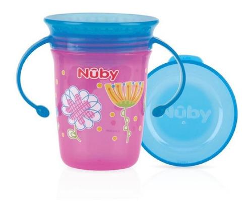 vaso 360 wonder con asas nuby 68024wo babymovil