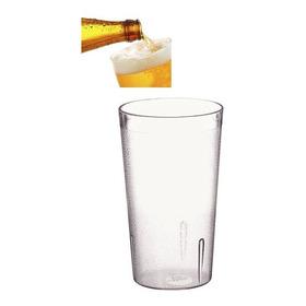 Vaso 8 Oz Plástico Transparente Gaseosa Cerveza Té Restauran