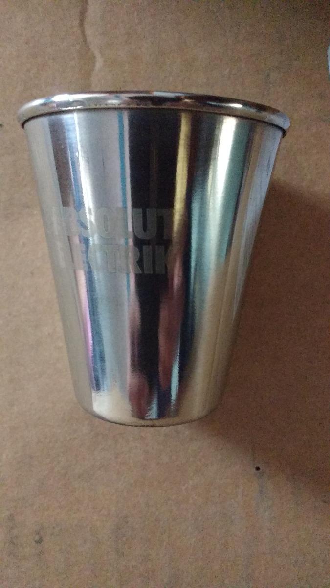Vaso acero inox ch 80ml acampar bar cafe medidas paletas for Vasos para bar