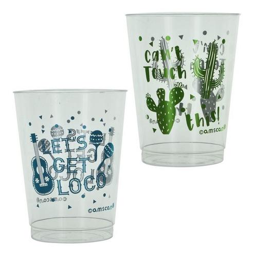 vaso acrilico x10pcs 22765