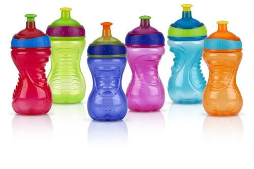 vaso antiderrame nuby  pop up swirls 10 oz bebes nuevo