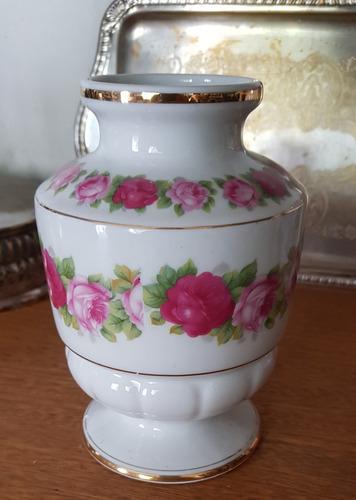 vaso antigo enfeite porcelana ernesto & hugo saler decoração