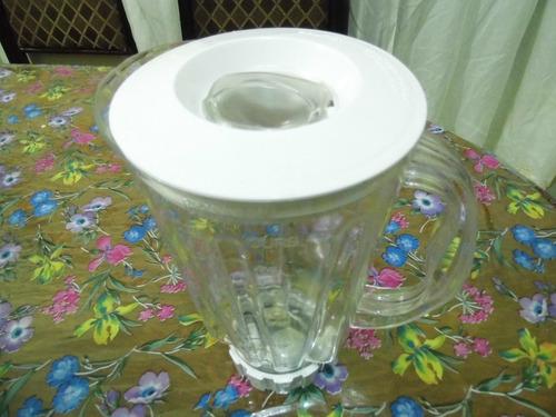 vaso armado hamilton beach de plastico