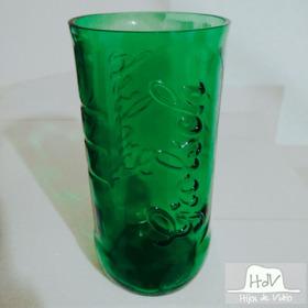 Vaso Artesanal Hecho Con Botella De Cerveza Grolsch 1 Litro
