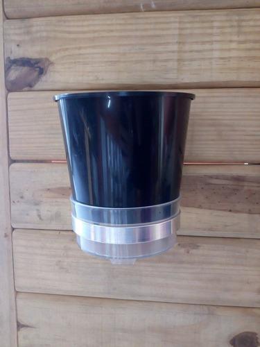 vaso auto irrigável anti aedes aegypti - kit 05 unidades