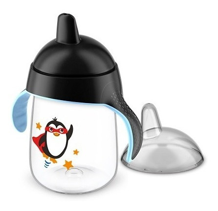 vaso avent antiderrame  340 ml con tapa