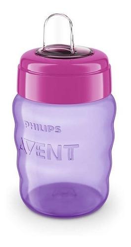 vaso bebe boquilla philips avent 260ml babymovil scf553
